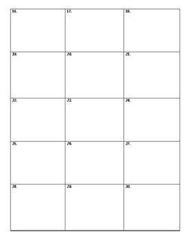 Math Homework Sheet