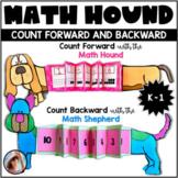 Counting Forward and Backward within 20 Math Hound