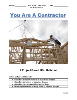 Math House Measurement Project
