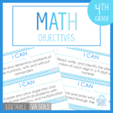 Math I CAN 4th Grade Objectives