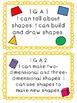"First Grade Math ""I Can"" Cards"