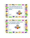 Math I Can Statements for Common Core Standards