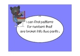 """Math """"I can"""" statements for 1st grade"""