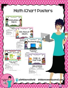 Math IChart Station Cards