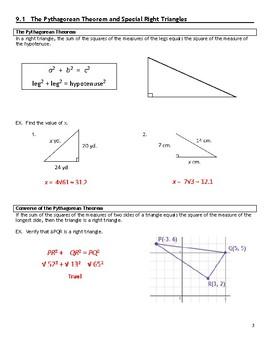 Math II - Unit 9 (Trigonometric Functions) Notes