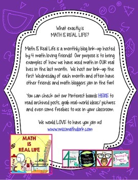Math IS Real Life January FREEBIE - snow removal multi-step word problem