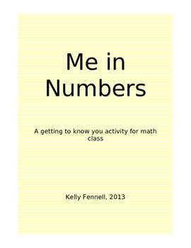 "Math Icebreaker: ""Me in Numbers"""