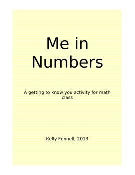 "Math Icebreaker: ""Me in Numbers"""