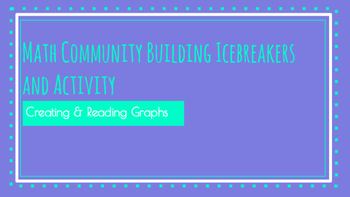Math Icebreakers & Activities for Building Relationships