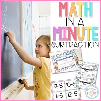 Subtraction Math Fact Fluency
