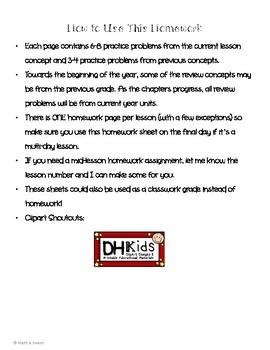 Math In Focus 2nd Grade Chapter 13 HOMEWORK!
