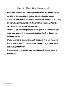 Math In Focus 4th Grade Chapter 10 HOMEWORK!