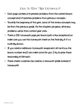 Math In Focus 4th Grade Chapter 11 HOMEWORK!