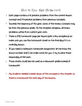 Math In Focus 4th Grade Chapter 7 HOMEWORK!