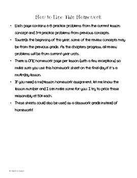 Math In Focus 4th Grade Chapter 8 HOMEWORK!