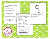Math In Focus Beginning of the Year Assessment - Grade 3 - PLEASE READ!!!