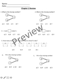 Math In Focus Chapter 2 Assessment Review