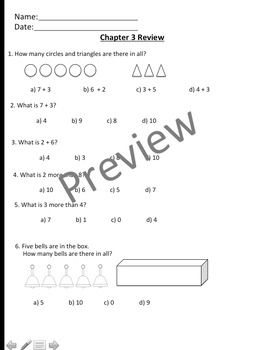 Math In Focus Chapter 3 Assessment Review