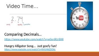 Math In Focus Chapter 7 Lesson 7.3  Comparing Decimals (4th Grade)