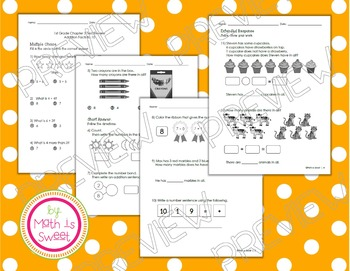 Math In Focus - Grade 1 - Chapter 3 (Add to 10) Review/Study Guide/Test