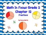 Math In Focus Grade 2, Chapter 12 Posters and Vocabulary Packet