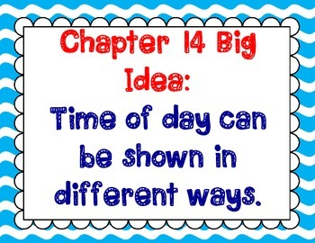 Math In Focus Grade 2, Chapter 14 Posters and Vocabulary Packet