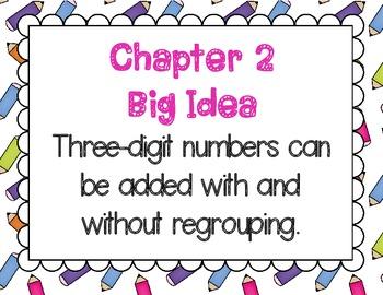 Math In Focus Grade 2, Chapter 2 Vocabulary, Math Journal