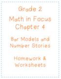 Math In Focus Grade 2 Chapter 4 Bar Models Homework Worksh