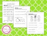 Math In Focus - Grade 3 - Chapter 11 (Metric Length, Mass, Volume) Review/Test