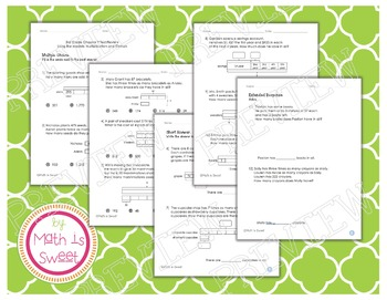 Math In Focus - Grade 3 - Chapter 9 (Mult./Div. Bar Models) Review/Test