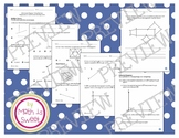 Math In Focus - Grade 4 - Chapter 10 (Perpendicular & Parallel Lines)Review/Test
