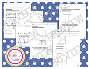 Math In Focus - Grade 4 - Chapter 11 (Squares and Rectangl