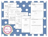Math In Focus - Grade 4 - Chapter 15 (Tessellation) Review/Test