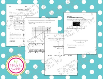 Math In Focus - Grade 5 -Chapter 11 (Graphs/Probability) Review/Study Guide/Test