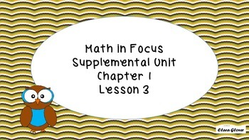 Math In Focus Supplemental Lesson 3 Chapter 1