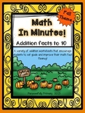 Math In Minutes!