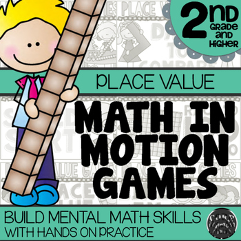 Math In Motion - Second Grade Hands-On Math Games - Place Value