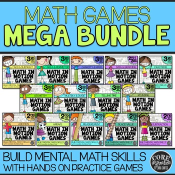 2nd & 3rd Grade Math Games | Hands-On Learning for Workshop and ...