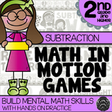 2nd Grade Subtraction Math Games | Hands-On Learning for Workshop & Centers