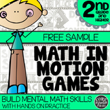 2nd Grade Math Games | Hands-On Math Learning for Workshop and Centers | Freebie
