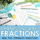 3rd Grade Fractions Math Games | Hands-On Learning for Workshop and Centers