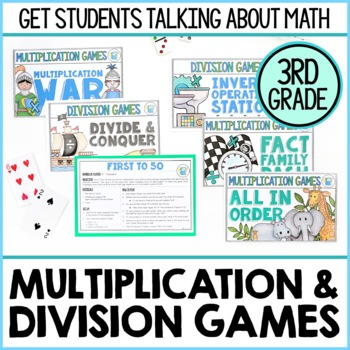3rd Grade Multiplication Facts Teaching Resources | Teachers Pay ...