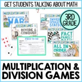 3rd Grade Multiplication and Division Math Games   Printable Hands-On Learning