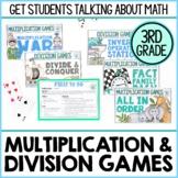 3rd Grade Multiplication and Division Math Games | Printab
