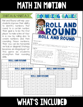 3rd Grade Rounding Math Games | Hands-On Learning for Workshop and Centers