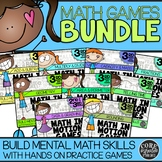 3rd Grade Independent Hands-On Math Games for Math Worksho