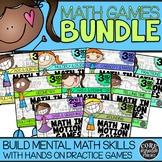 3rd Grade Independent Hands-On Math Games for Math Worksho