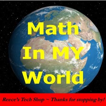 Math In My World