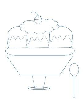 Math Incentive/Reward Ice Cream Sundae/Banana Split