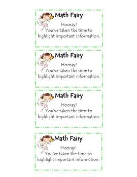 Math Incentives